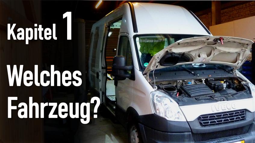 Kapitel 1: Die Basis: 5700€ für unseren Iveco Daily: Vantour.. oder besser Schadensbegutachtung?