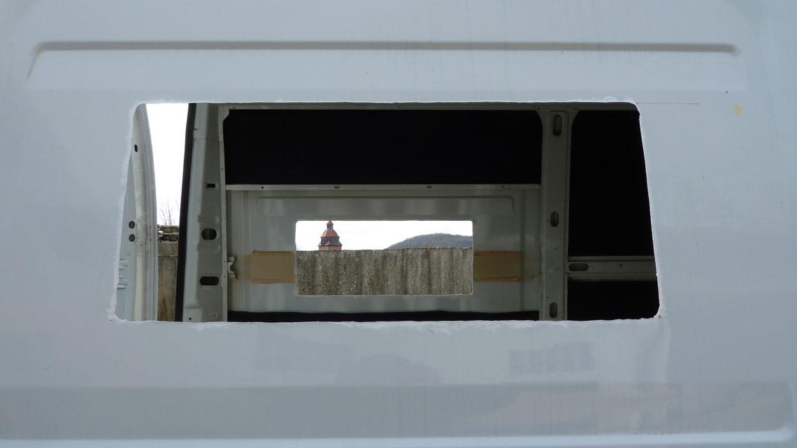Das richtige Fenster für den Camper Ausbau