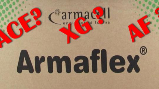 Die Armaflex Unterschiede! Armaflex im Camper? ACE, XG oder AF?