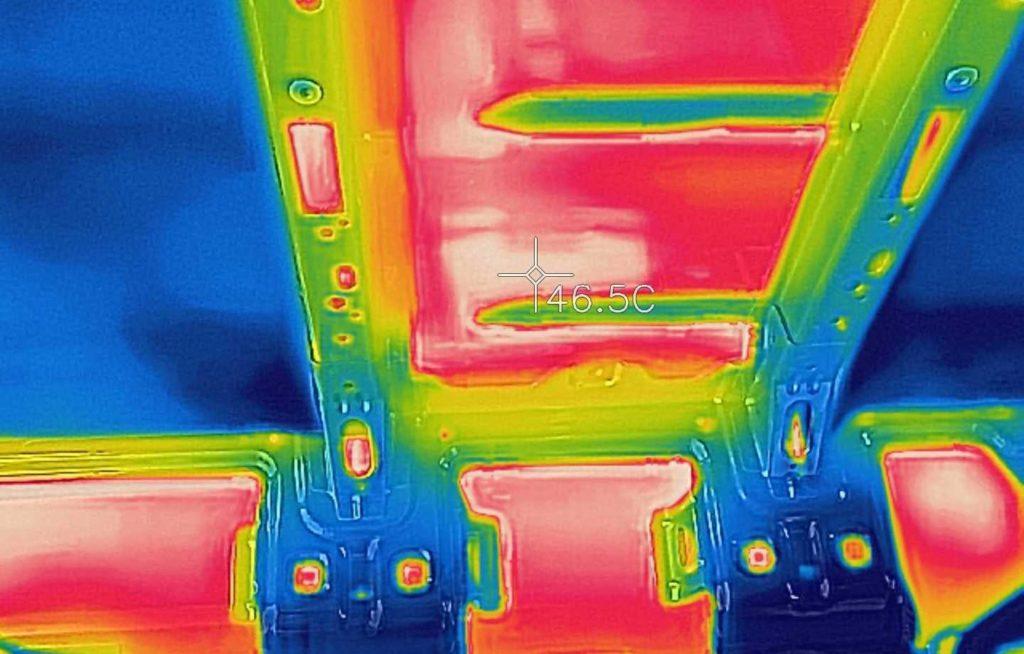 Wärmebildkamera Armaflex Wärmebild Camper Van Dämmung