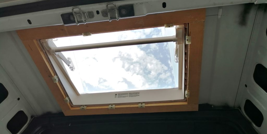 MPK Visionstar L pro Dachhaube Dachluke Dachfenster rahmen